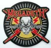 Megadeth - 'Vic' Embroidered Patch